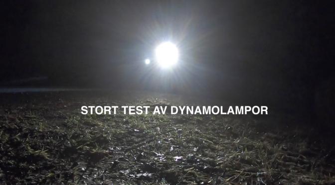Stort Test av Dynamolampor Del 1