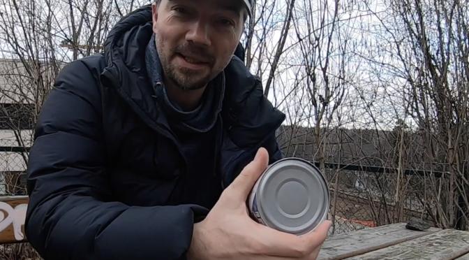 Öppna konservburk utan öppnare, del 2