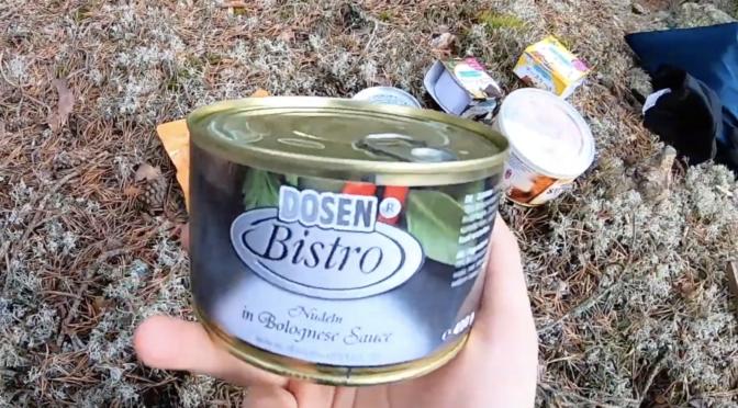 Recension: DosenBistro Pasta Bolognese