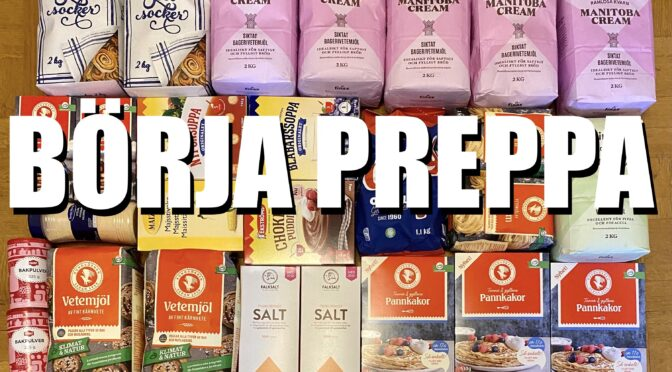 Börja Preppa del 3